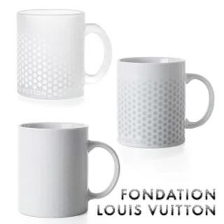 ルイヴィトン(LOUIS VUITTON)の【新品】パリ限定 ルイヴィトン美術館 マグカップ3種セット(グラス/カップ)