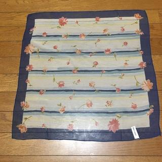 ローラアシュレイ(LAURA ASHLEY)のローラアシュレイ プチスカーフ シルク100%(バンダナ/スカーフ)