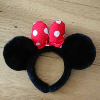 ディズニー(Disney)のミニー カチューシャ(キャラクターグッズ)