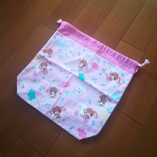 サンリオ(サンリオ)のシュガーバニーズ☆マチ付き巾着袋(その他)