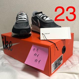 ナイキ(NIKE)の[即日発送]Sacai Nike LDWAFFLE 23cm ブラック US4(スニーカー)