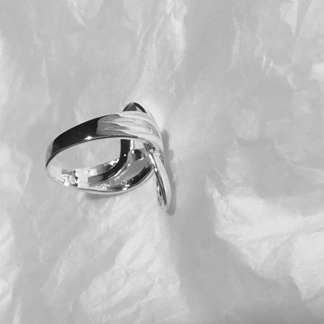 TOMORROWLAND(トゥモローランド)のインポート ハンドル シルバー 925 リング レディースのアクセサリー(リング(指輪))の商品写真