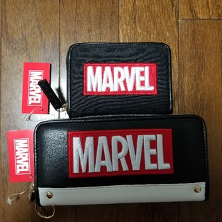 マーベル(MARVEL)の【MARVEL】長財布&コインケース2点セット(その他)