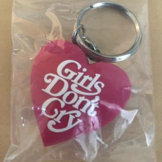 ジーディーシー(GDC)のgirls don't cry キーチェーン ピンク(キーホルダー)
