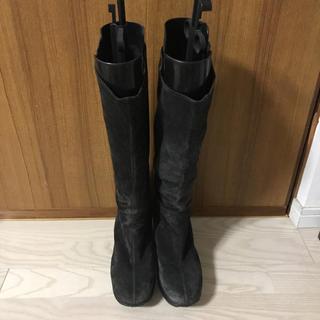 ルコライン  スエードブーツ 美品  値下げ(ブーツ)