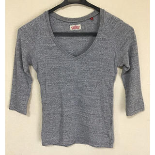 ハリウッドランチマーケット(HOLLYWOOD RANCH MARKET)のハリウッドランチマーケット 七分袖 Tシャツ  Sサイズ(Tシャツ(長袖/七分))