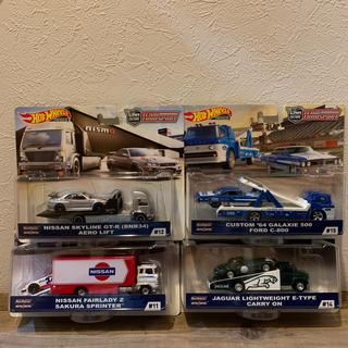 日産 - 最速入荷 ホットウィール チームトランスポート R34 ジャガー Z フォード