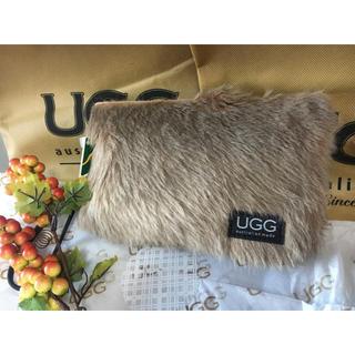 アグ(UGG)の【新品未使用】アグ  ファーバッグ クラッチバッグ UGG カンガルー(クラッチバッグ)