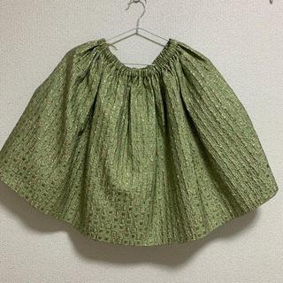 ミュウミュウ(miumiu)のmiumiu ジャガード素材 スカート(ひざ丈スカート)