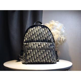 ディオール(Dior)のディオー   ル 男女兼用 ブラック ズック リュックサック (バッグパック/リュック)