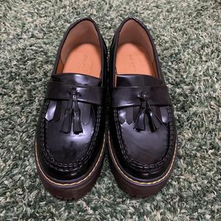 ダブルクローゼット(w closet)のw closet ✿︎ 厚底タッセルローファー(ローファー/革靴)