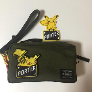 ポーター(PORTER)のポーター ポケモン 2wayポーチ カーキ(ポーチ)