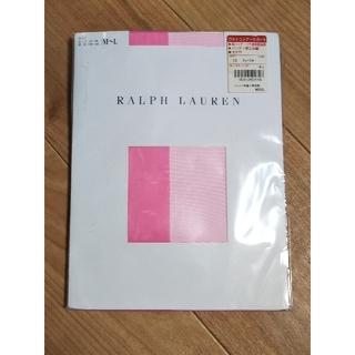 ラルフローレン(Ralph Lauren)の希少レア ラルフローレン ネオンピンク色 ストッキング(タイツ/ストッキング)