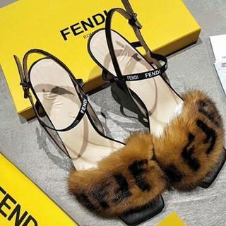 フェンディ(FENDI)の新品FENDI サンダル (ハイヒール/パンプス)