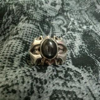 925♥ブラックストーンリング(リング(指輪))