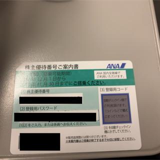 エーエヌエー(ゼンニッポンクウユ)(ANA(全日本空輸))のANA株主優待券11/30まで1枚(航空券)