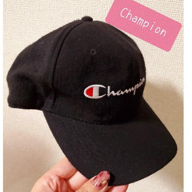 Champion(チャンピオン)のChampion☆人気!!秋冬素材!!キャップ レディースの帽子(キャップ)の商品写真