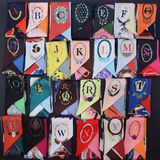 Dior - アルファベット イニシャル ツイリー  スカーフ ミッツア