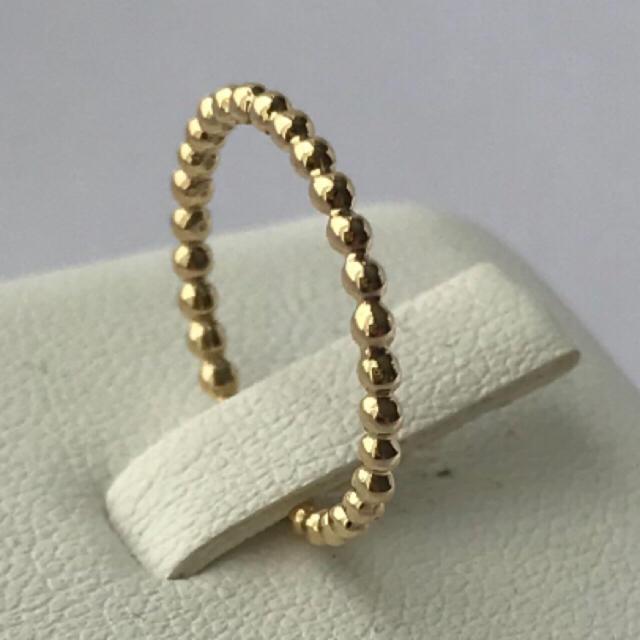 10kドット ピンキーリング 5号 インドジュエリー レディースのアクセサリー(リング(指輪))の商品写真