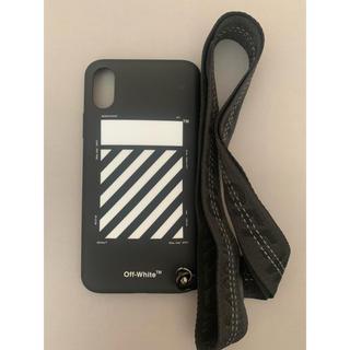 オフホワイト(OFF-WHITE)のOFFWHITE iphone x xs用ケース(iPhoneケース)