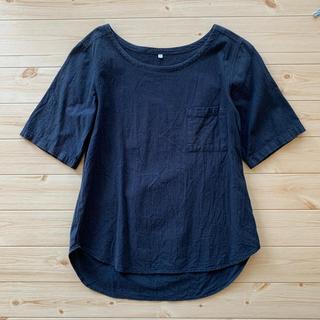 ムジルシリョウヒン(MUJI (無印良品))のmuji 半袖ブラウス(シャツ/ブラウス(半袖/袖なし))