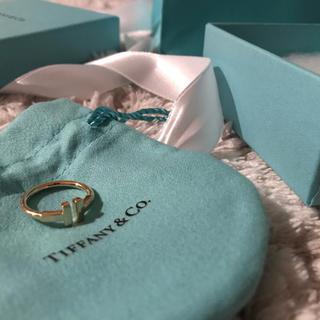 ティファニー(Tiffany & Co.)のティファニー T ワイヤーリング(リング(指輪))