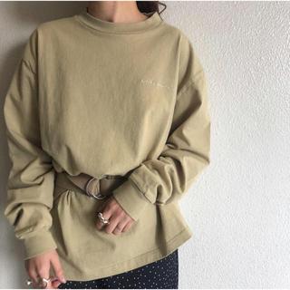 トゥデイフル(TODAYFUL)のSOL.様専用 TODAYFUL Lettering Long T-Shirts(Tシャツ(長袖/七分))