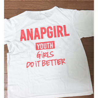 アナップキッズ(ANAP Kids)のANAP GIRL Tシャツ(Tシャツ(半袖/袖なし))