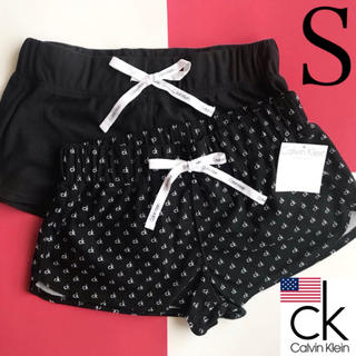 カルバンクライン(Calvin Klein)のレア 新品 Calvin Klein USA ショートパンツ 2枚 S 下着(ルームウェア)