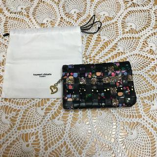 ツモリチサト(TSUMORI CHISATO)のツモリチサト ♡折財布 メッシュ(財布)