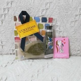 ロクシタン(L'OCCITANE)の新品未使用L'OCCITANEハンドクリーム、石鹸、爪やすり(ネイルケア)