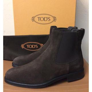 トッズ(TOD'S)の定価9万程 TOD'S トッズ スエード アンクル サイドゴアブーツ uk5(ブーツ)