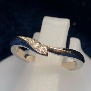 ニワカ(俄)のサイズ直し無料! 俄 にわか 750 ダイヤモンド リング 指輪 ホワイト(リング(指輪))
