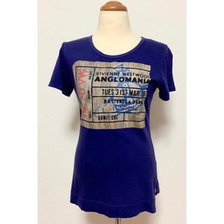 ヴィヴィアンウエストウッド(Vivienne Westwood)のウエストウッドアングロマニアTシャツ(Tシャツ(半袖/袖なし))