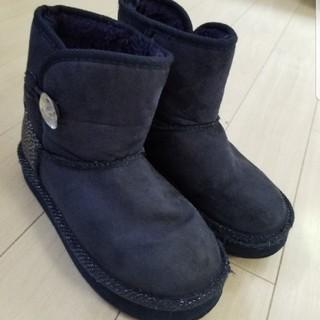 ヴァンズ(VANS)のVANS☆キラキラムートンブーツ(20センチ)(ブーツ)