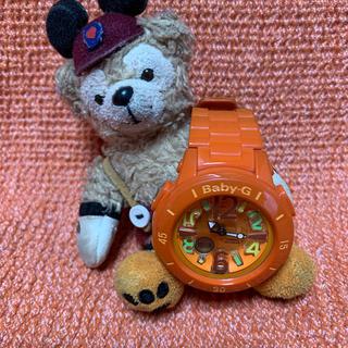 ベビージー(Baby-G)の値下げしました❗️CASIO Baby-G オレンジ(腕時計)