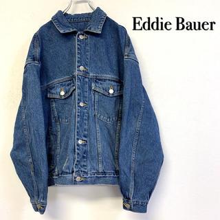 エディーバウアー(Eddie Bauer)の美品 EddieBauer Gジャン 腕フトシルエット(Gジャン/デニムジャケット)