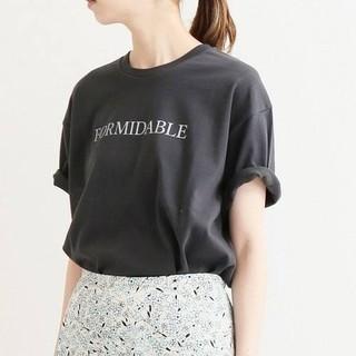 イエナ(IENA)のイエナ プリントロゴTシャツ(Tシャツ(半袖/袖なし))