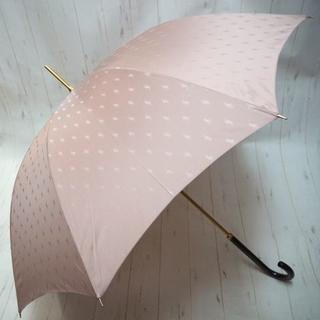 ポロラルフローレン(POLO RALPH LAUREN)のポロ ラルフローレン 長傘 雨傘 ちらしポニー☆ピンク(傘)