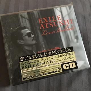 エグザイル(EXILE)の初回EXILE ATSUSHI アルバムLove ballad (ミュージシャン)