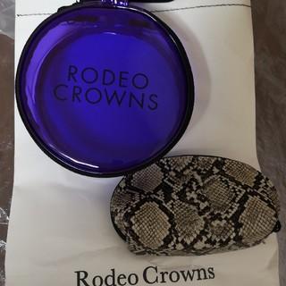 ロデオクラウンズワイドボウル(RODEO CROWNS WIDE BOWL)のノベルティ ポーチ&ブラシ(ポーチ)