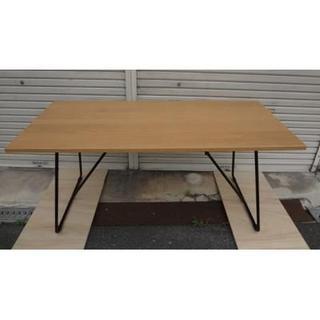 ムジルシリョウヒン(MUJI (無印良品))のワイド160cm 無印良品  良品計画 MUJI 折りたたみテーブル(折たたみテーブル)