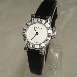 ティファニー(Tiffany & Co.)のティファニー アトラス腕時計 純正替ベルト付 S925レディース(腕時計)