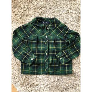 イーストボーイ(EASTBOY)のEASTBOY チェックシャツ 100cm(ブラウス)