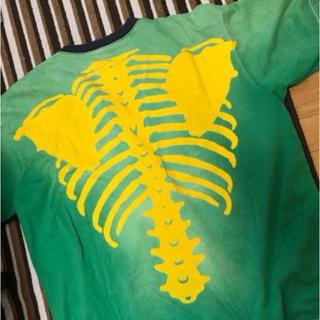 キャピタル(KAPITAL)のキャピタル ボーン 骨 tシャツ(Tシャツ/カットソー(半袖/袖なし))