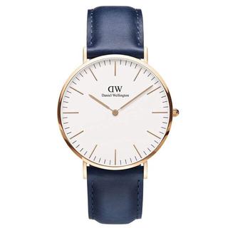 ダニエルウェリントン(Daniel Wellington)の美品 送料込 DanielWellington DW00100121 40mm(腕時計(アナログ))