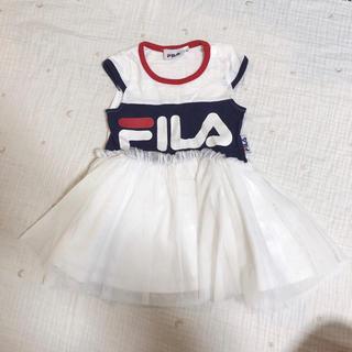 フィラ(FILA)のFiLA ♡︎ チュールワンピース(ワンピース)