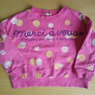 サンカンシオン(3can4on)のピンクのトレーナー 110 子供服 女の子(Tシャツ/カットソー)