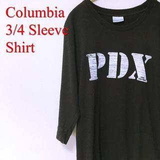 コロンビア(Columbia)のColumbia コロンビア 七分袖 Tシャツ ロンT(Tシャツ/カットソー(七分/長袖))