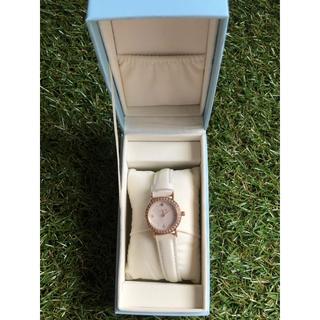 ヨンドシー(4℃)のcanal4℃  12月の誕生石付き腕時計  ※日常生活用防水時計(腕時計)